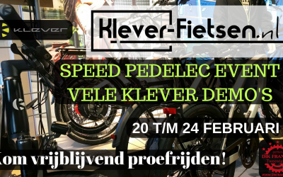 Speed Pedelec Event van 20 t/m 24 februari!