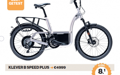 Klever X Speed Pinion en B Speed als beste speed pedelec getest bij de AD Fietstest!